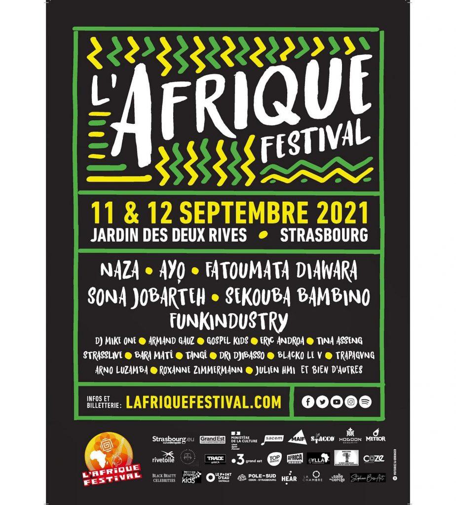 L'AFRIQUE FESTIVAL 2021 (FRANCE – STRASBOURG)